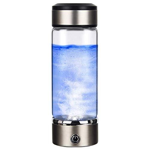 COTTILE Bicchiere da 500 ml di Acqua Ricca di idrogeno Generatore di Acqua a ioni Ricaricabile Generatore di Tazza di Acqua Ricca di idrogeno Bollitore Anti-invecchiamento Anti-ossidazione