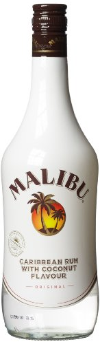 Malibu Kokos-Likör auf Rumbasis, 700ml