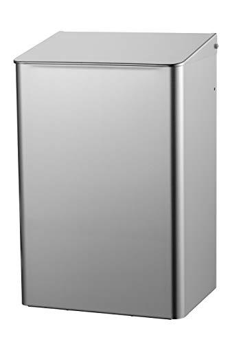 ALLCARE 8230 MediQo-line MQWB15E Abfallbehälter geschlossen Rostfreier Stahl, 15L
