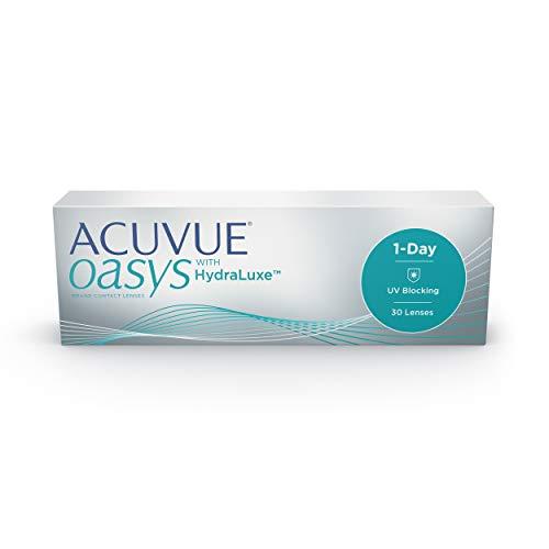 ACUVUE OASYS 1-DAY con tecnología HydraLuxe - Lenti Giornaliere - protezione UV - 30 lenti