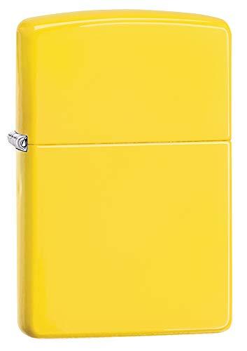 Zippo Zippo Feuerzeug, Gelb Gelb