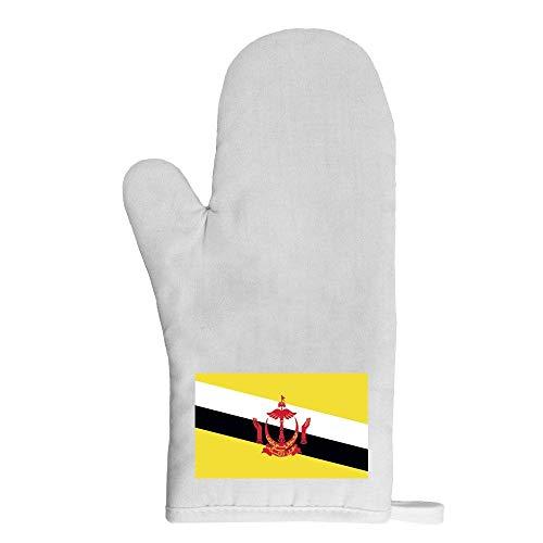 Mygoodprice Ofenhandschuh Topflappen Flagge Brunei