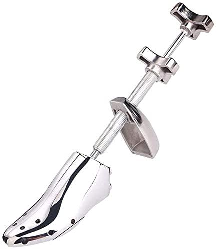 Porta zapatos de metal profesional, árbol de zapatos de aleación de aluminio, expansor de zapatos de acero ajustable de metal, moldeador de estiramiento de zapatos, adecuado para hombres y mujeres,