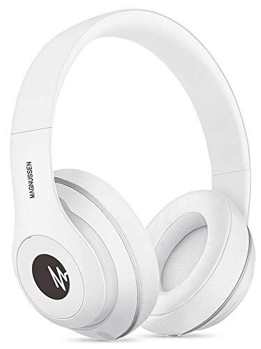 Magnussen Audio H1 Bluetooth koptelefoon 4.1, opvouwbaar, verstelbaar, wit glanzend