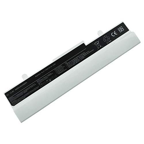 Laptop-Akku Asus 1005P(H.W) 10.8 4400mAh/48Wh kompatibel mit Asus Eee PC 1001H   1001P   1005   1005H   1101HA   1101 und part number 0B20-00KC0AS   90-OA001B9000   90-OA001B9100   90-XB0ROABT00010Q   90-XB16OABT00100Q   90-XB2COABT00100Q   AL31-1005   AL32-1005   PL32-1005