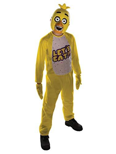 Rubie's offizielles Five Nights at Freddy's Chica-Kostüm, Kinder-Kostüm - Größe L