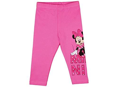 Disney Baby Mädchen Thermo-Leggings mit Minnie Mouse in Gr. 68 74 80 86 92 98 104 110 116 122 Baumwolle warme Hose für 6-12 12-18 1 2 3 4 5 Jahre Farbe Modell 5, Größe 80