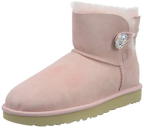 UGG Damen Mini Bailey Taste Bling Klassische Stiefel, Rosa Wolke, 42 EU