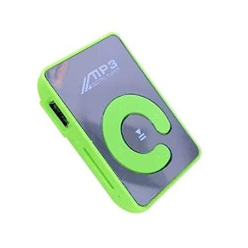 Mini spiegel clip MP3-speler draagbare sport USB digitale muziekspeler SD TF-kaart
