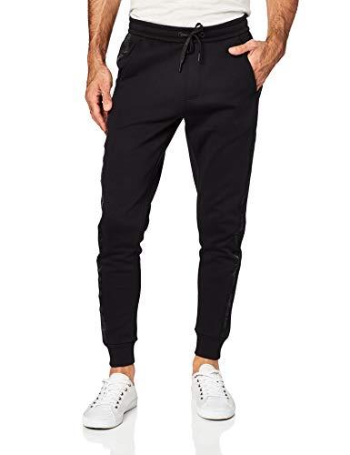 Calvin Klein Jeans Herren INSTIT TAPE MIX MEDIA PANT Sweatpants, Ck Black, X-Large