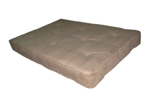 Home Life 8-Inch Independently-Encased Coil Premium Futon Mattress Full Size - Beige