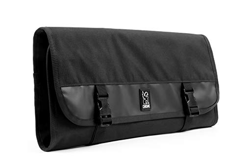 Chrome Industries Chef's Knife Roll - Case Designed with 11 Knife Slots Can Hold up to 17 Knives, Black