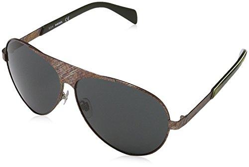 Diesel DL0119 09A Gafas de sol, Marrón (Braun), 60 para Mujer