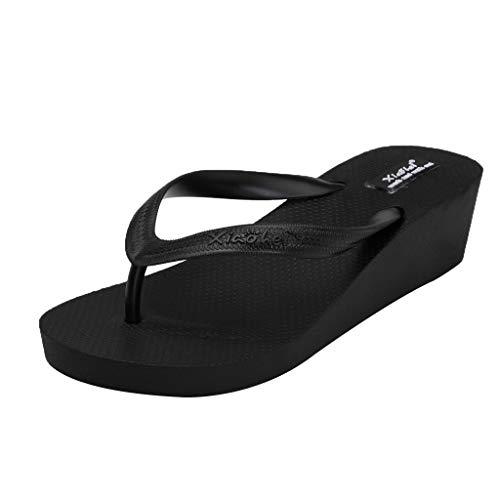 Bfmyxgs Freizeitkleidung Aus Kunststoff Prise Sandalen rutschfeste Piste Strandflops Pantoffeln Damen Hausschuhe Gant Damenschuhe