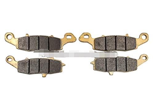 Ting Ting TTRS Store Pastillas de Freno Delanteras/traseras aptas para Suzuki GSF600 Bandido GSX600F GSX750F GSX 750 F Katana 98-06 GSX750 Inazuma 98-00 SV400 SV650 99-02 (Color : 2 Pair Front)