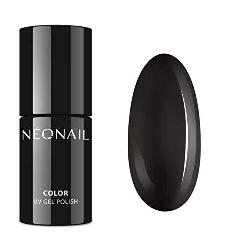 NEONAIL UV Nagellack 7,2 ml UV Lack Gel Polish Soak off Nagellack UV Gel LED Polish Lack Shellac (2996-7 Pure Black)