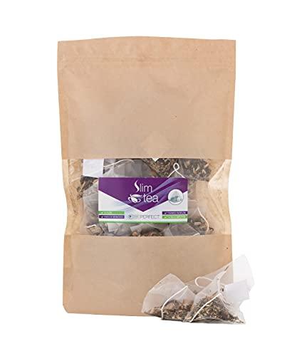 BePerfect – Slim Tea - Filtri monodose in nylon – 100% Naturale – Biologico – Per drenare, detossinare e perdere peso – Senza Glutine o Lattosio - Made in Italy – 30 Filtri