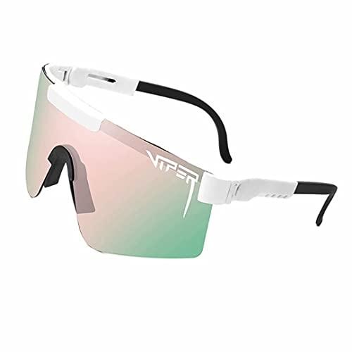 Pit-Viper Gafas de sol polarizadas UV400 para hombres y mujeres, XJ03, XX-Small