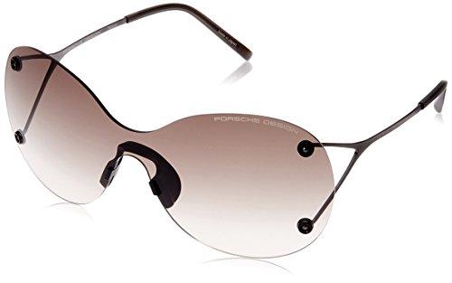 Porsche Design Sonnenbrille P8621 A 99 1 145 Oval Sonnenbrille 99, Silber