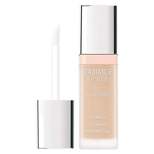 Bourjois - Anti-cernes Radiance Reveal - Correcteur illuminateur - Formule hydratante - 01 Ivory 7,8 ml