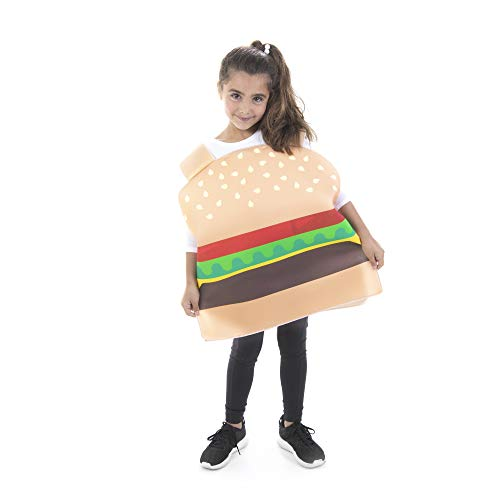 Cheesy Burger Kid Costume - Funny Food Costumes for Boys and...