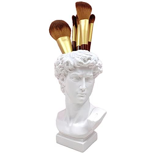 LFDD Tenedor De Los Cepillos del Maquillaje De La Escultura, Decoración del Hogar del Tenedor De La Pluma del Maquillaje del Florero De La Resina