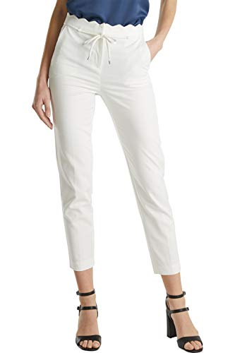 ESPRIT Collection Damen 050EO1B301 Hose, Off White (110), 42/28