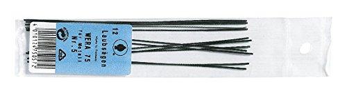 Schiessel Laubsägeblatt Wera für Metall, Größe 0, 12 Stück Laubsägeblätter