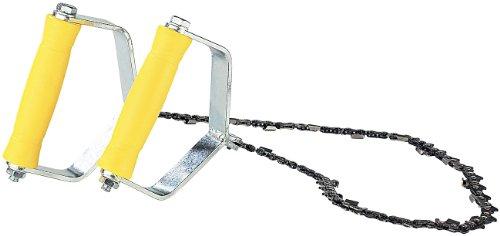 AGT Handkettingzaag: Handkettingzaag, metalen handgrepen, zaagketting 70 cm, 18 extreem scherpe tanden (zaagtouw, boom)