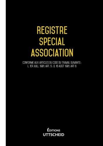 Registre special association
