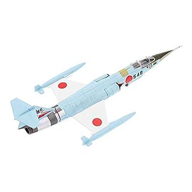 Almencla 1:100 Diecast F-104J Starfighter JASDF Airplane Model Toy Star Fighter