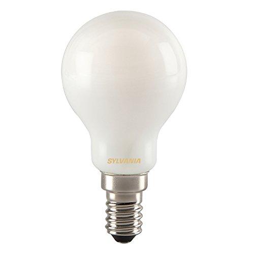 Sylvania Toledo 0027257 Rétro Boule Lampe LED, verre clair, Home, E14, 4,8 W