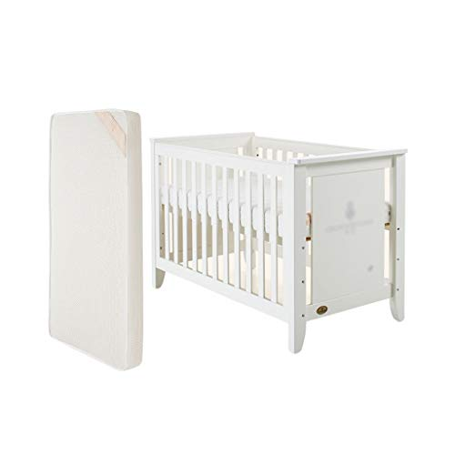 Planken van de baby bed met matras Multifunctionele Europese Crib Convertible Aan 3 posities ledikant Hechten Bed Game Bed kinderbed for jonger dan 6 jaar Slaapbank