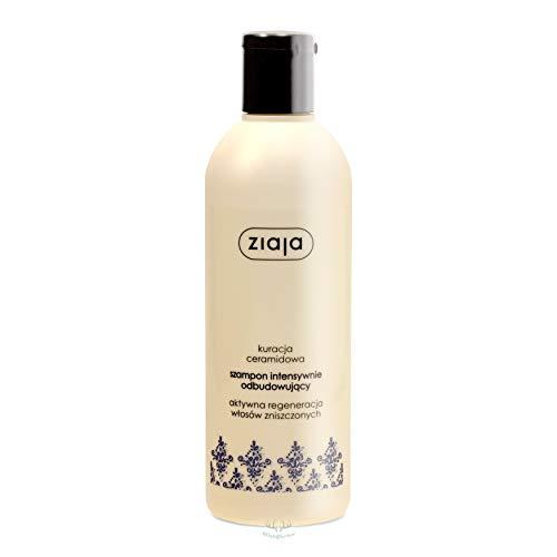 ZIAJA – Champú reconstructor para el cabello con ceramidas. Para cabello dañado. 400 ml