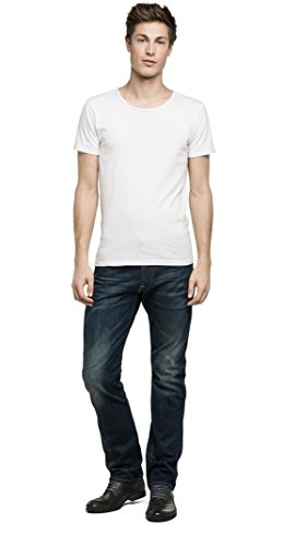Replay Herren Regular Slim Leg Jeanshose WAITOM, Gr. W34/L32 (Herstellergröße: 34), Blau (Blue Denim 007)