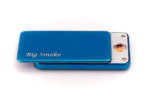 Big Smoke Big Smoke USB Elektro Feuerzeug Coil Lighter Blau Blau