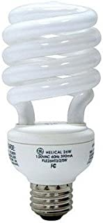 GE 15836 - 26 Watt CFL Light Bulb - Compact Fluorescent - 100 W Equal - 2700K Warm White - Min. Start Temp. 5 Deg. F - 82 CRI - 65 Lumens per Watt - 12 Month Warranty