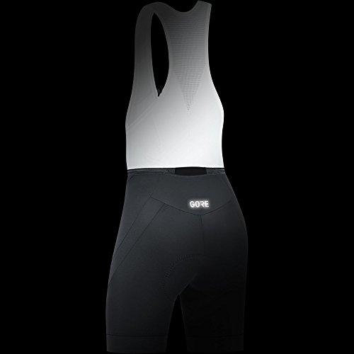 GORE Wear Atmungsaktive, kurze Damen Trägerhose, Mit Sitzpolster, C5 Women Bib Shorts+, 36, Schwarz, 100198 - 4