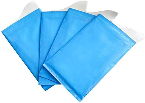 N\A LUCK 4pcs Unisex Disposable Urinal Bags Brief Relief Super Absorbent Packs for Travel Car Traffic Jam Camping (Blue)