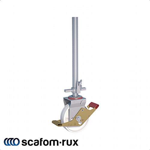 Wicke Fahrgerüstrolle Lenkrolle 10,0 kN, Ø 200 mm, höhenverstellbar