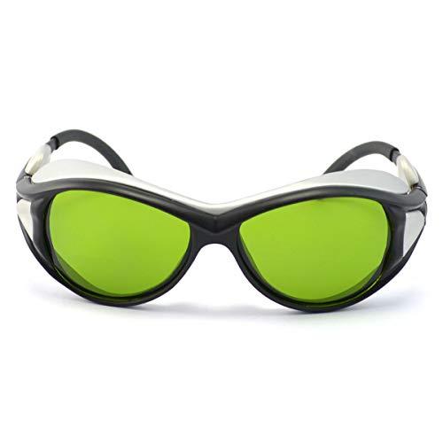 LUFEILI Lasermaschine Graviermaschine Spezielle Strahlenschutzbrille 1064nm Laserschutzbrille 800-1100nm