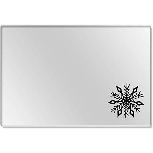 Azeeda 1 x 'Flocon de Neige' Set de Table Transparent (CR00141299)