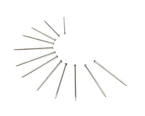 3700 Dressmaker Pins by Prym - #20 - 1 1/4' Long Premium Nickel Plated Steel 1 Lb (1 Box / Pack)