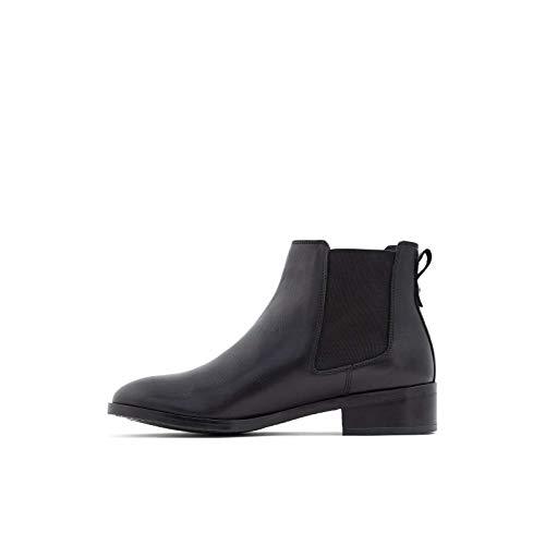ALDO Women's Eraylia Chelsea Ankle Boot, Black, 8.5