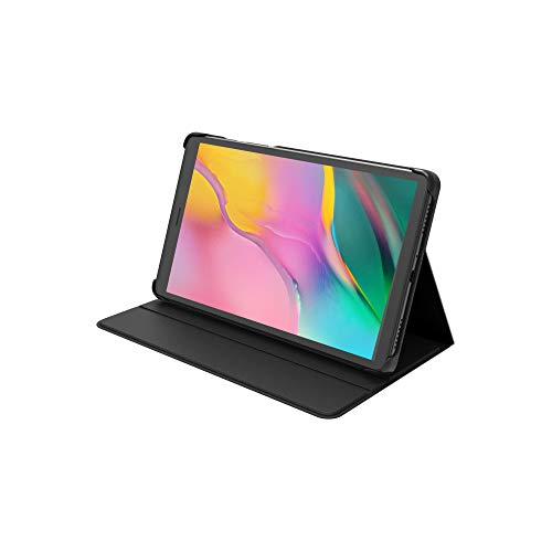 Schutzhülle für das Samsung Galaxy Tab A (8.0 Zoll/20 cm, 2019) mit Klappständer und 2 Betrachtungswinkeln – Schwarz