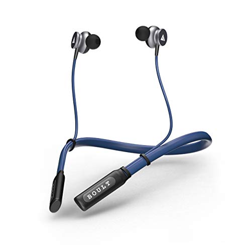 Boult Audio ProBass Curve in-Ear Earphones with 12H Battery Life & Extra Bass, in-Built Mic, IPX5 Water Resistant Neckband(Blue)