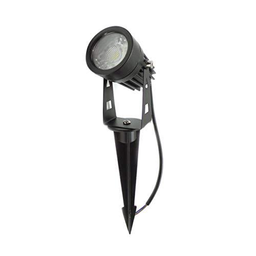 Spot à Piquer LED extérieur IP65 3W COB - Blanc Froid 6000K - 8000K - SILAMP