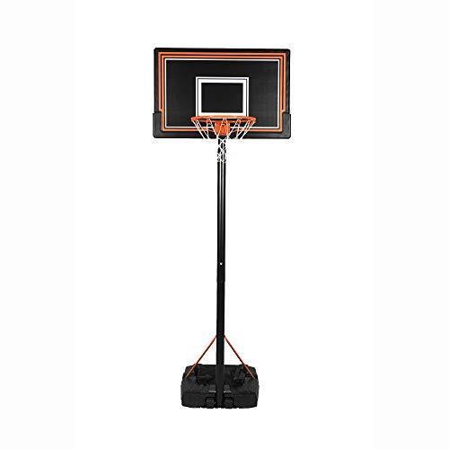 Swager Basketball-Set (Ständer, Reifen und Netz), Zwei Größen wählbar, 2m 30 bis 3m 05
