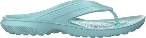 Crocs Classic Flip K, Scarpe da Spiaggia e Piscina Unisex-Bambini, Blu (Ice Blue 4o9), 24/25 EU