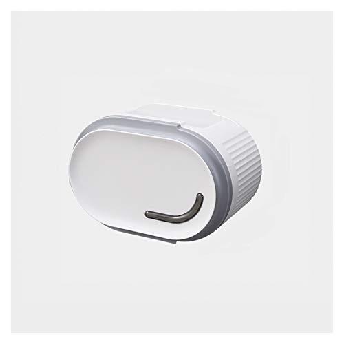 Xiaokeai Caja de dispensador de Tejido de Pared de Alta Capacidad con Dos Salidas de Papel Caja de Tejido Facial para baño y Cocina